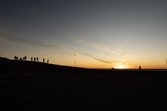 seaside park sunset (makriver) Tags: park blue sunset sky orange cloud silhouette yellow seaside fujifilm xt3 xf16mmf14 simple scenery people shadow japan dark magichour sea beautiful gold atmosphere