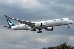 Cathay Pacific - Airbus A350-1041 / B-LXA @ Manila (Miguel Cenon) Tags: cx cxa350 cathaypacific cathay cathaypacifica350 cathaya350 rpll airbus airbusa350 a350 airplane airplanespotting apegroup appgroup airport ppsg planespotting philippines manila nikon naia d3300 rollsroyce rrtrent xwb trentxwb sky fly flying wings twinengine widebody widebodyjet plane clouds window wing twin airbusa35k airbusa3501000 a35k a3501000 blxa