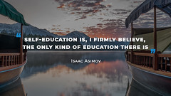 Quote by Isaac Asimov (persona.lab) Tags: quotes education thoughts emotions personality isaacasimov