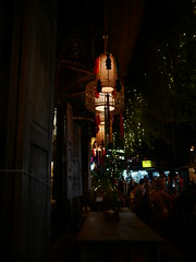 Light (Golffeeman) Tags: lamp torch night restaurant exotic orient asian bangkok