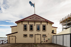 WA Rowing Clubhouse (Mark Hamersley) Tags: swanriver westernaustralia building water club sky rowing perth clouds