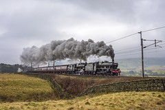 Santa's Present (4486Merlin) Tags: 4556245699 46115 alberta england europe exlms lms6p5fjubilee lms7proyalscot northwest railways scotsguardsman steam transport unitedkingdom wcml scoutgreen cumbria santaspecial wcrc highscales