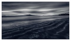 Drifting (cjhall.nz) Tags: wideangle northshore bw travel newzealand auckland framedinnz monochrome bnw blackandwhite longexposure seascape landscape morning dawn island rangitoto beach takapuna