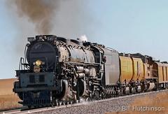 November 23, 2019 - Union Pacific Big Boy 4014 rolls across the plains. (Bill Hutchinson)