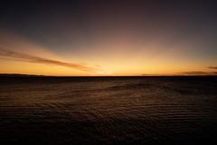 Sea (makriver) Tags: blue sunset sea sky orange cloud seascape japan purple horizon wave fujifilm gradation simple xt3 間瀬 xf16mmf14 nature layer magichour