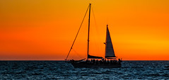 tropical island sunset cruise__ (Ardan_Dojan) Tags: tropical island sunset cruise yacht yawl crusing peaceful silhouette action sea waters salty moderate wind resort fun nature seascape travel naturephotography travelphotography