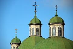 The Green Spires (Alan1954) Tags: lviv green church christian holiday 2019