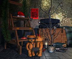 Xmas Lights... (ThiegoFire) Tags: codex decor xmas kinkyevent exclusive funny cute bdsm blog secondlife sl pic photoshop photography