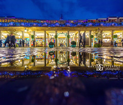 Autumn Rain - Covent Garden, London, UK (davidgutierrez.co.uk) Tags: london photography davidgutierrezphotography city art architecture nikond810 nikon urban travel color night blue photographer tokyo paris bilbao hongkong christmas uk person people bridge londonphotographer twilight bluehour colors colour colours colourful vibrant england unitedkingdom 伦敦 londyn ロンドン 런던 лондон londres londra europe beautiful cityscape davidgutierrez capital structure britain greatbritain ultrawideangle afsnikkor1424mmf28ged 1424mm d810 arts landmark attraction historic iconic icon touristattraction street streetphotography 倫敦 reflection puddle autumn rain coventgarden westend xmas