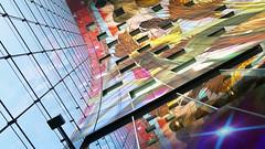 - Markthal Rotterdam - (Jacqueline ter Haar) Tags: rotterdam markthal arnocoenen irisroskam colourful reflections mvrdv markethall architecture laurenskwartier reflectie hornofplenty mall lookingup anniversary