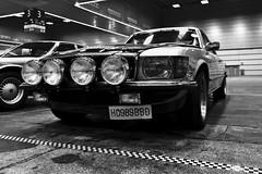 Mercedes (DONXRi) Tags: nikon bilbao bilbo bn bw retroclasica car clasico