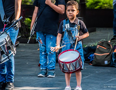 2019 - Mexico - Cuernavaca - 23 - Plaza de Armas (Ted's photos - Returns Early February) Tags: 2019 cuernavaca mexico nikon nikond750 nikonfx tedmcgrath tedsphotos tedsphotosmexico vignetting drummer boy cuteboy youngboy plazadearmas cuernavacamorelos morelos musician entertainer denim denimjeans cuernavacazocalo zocalocuernavaca zocalo zocálo