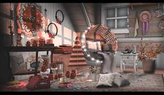 Autumn evenings like tale ♥ (Yaska Resident) Tags: serenitystyle minimal ik belle tentacio ilaya thor thegreendoor curura cubura disorderly barley kraftwork crate harvest entryway floorplan