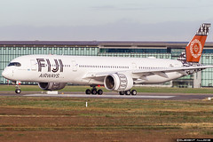 Fiji Airways Airbus A350-941 cn 320 F-WZFW // DQ-FAJ (Clément Alloing - CAphotography) Tags: fiji airways airbus a350941 cn 320 fwzfw dqfaj toulouse airport aeroport airplane aircraft flight test canon 100400 spotting tls lfbo aeropuerto blagnac aeroplane engine sky ground take off landing 1d mark iv avgeek avgeeks planespotter spotter news aviation daily insta avnerd planeporn megaplane avitionnews dailynews
