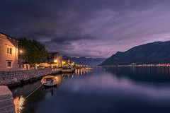 Kotor Bay in evening (Sizun Eye) Tags: perast montenegro kotor kotorbay evening twilight dusk longexposure sonyfe1635mmf28gm sony7rm2 sony