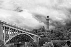 Highbridge Water Tower and Bridge (rjseg1) Tags: highbridge newyork bridge tower romanesque jervis