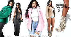Vive Nine @ Uber (Sanya Bilavio ( Vive Nine / Fiore )) Tags: sanya bilavio vive nine 9 shopping clothing secondlife sl fashion fur faux