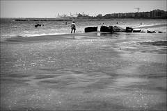 glittering city (bostankorkulugu) Tags: miamibeach beach limassol lemesos man walk glitter water waves sea mediterranean city sunshine cyprus kypros kibris