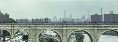 Bridge Arches, Skyline in Background (rjseg1) Tags: highbridge newyork harlemriver croton