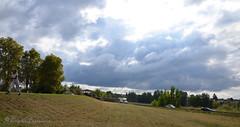 """Ciel de tourmente au-dessus de Garonne (Brigitte .. . """"Tatie Clic"""") Tags: 20181016 octobre automne agen route ciel nuage arbre paysage lotetgaronne aquitaine francesudouest panorama panoramique groupenuagesetciel"""