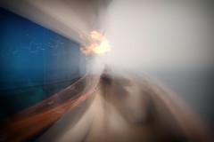 Fleeting Moments (3) (Alien Shores Imagery) Tags: ship cruiseship cruising dravuni dravuniisland southpacific fiji ocean dawn fleeting life ships