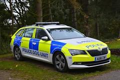 AU18 CNF (S11 AUN) Tags: norfolk police skoda superb estate dog section policedogs dogsupportunit dsu response van 999 emergency vehicle au18cnf suffolk