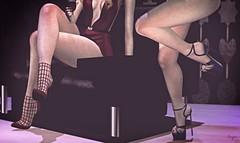 Chics.. (Brenda Karu) Tags: sl secondlife slfashion slevent shoes stilettos eventsl fashionsl mesh maitreya dubai anthem nxnardcotix