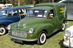 598 Morris Minor 6cwt Van (1966) - Forestry Commission (robertknight16) Tags: morris british 1970s minor issigonis bmc weston weston2016 forrestrycommission jul537d van