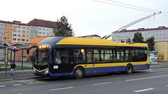 2019-11-20 Teplice Trolleybus Nr.181 (beranekp) Tags: czech teplice teplitz trolleybus trolebus trolejbus trolley obus filobus tradbus škoda arriva 32tr 181