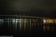 The bridge. (johanpettersson63) Tags: trollhättan västragötalandslän sverige stallbacka stallbackabron nightphotography