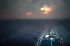 Dawn Cruising 10 (Alien Shores Imagery) Tags: ship atsea sunrise dawn cruising travel canon longexposure cruiseship ocean