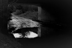 Sous les ponts - Under the Bridge (EmArt baudry) Tags: artnumérique abstract abstrait abstraction art digitalart dream rêve nikon nature noiretblanc blackandwhite bw eau water emart emmanuellebaudry gard occitanie reflection réflexion reflet reflexion reflect
