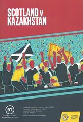 Scotland v Kazakhstan 2019119 (tcbuzz) Tags: scotland scottish football association sfa uefa european championships programme hampden park glasgow