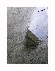 Collapsing (hélène chantemerle) Tags: sol reflet flaque immeuble ciel soil reflection puddle building sky