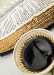 Companhia. (Jéssika J.) Tags: café bíblia palavradedeus meditação amigo vida