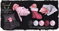Foxwood @ Tannenbaum (Dani @ Foxwood/Alchemy/Birdy/Foxes) Tags: screenshot sl secondlife foxwood pig piglet mesh companion pet tannenbaum