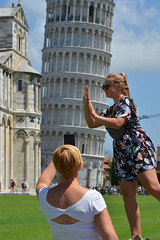 The Leaning tower of Pisa (Thomas Roland) Tags: europe europa italy italia italien sommer summer nikon d7000 travel rejse toscana tuscany by stadt town city pisa church katedral domkirke kirche cathedral