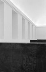 Reina Sofia, Madrid (marioandrei) Tags: ilford hp5 ei400 contax g2 zeiss planar 45mm f2 t kodak hc110