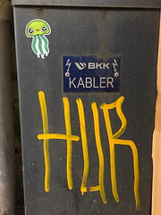 Barnslig (svennevenn) Tags: barnslig octopus stickers hur bergen gatekunst streetart