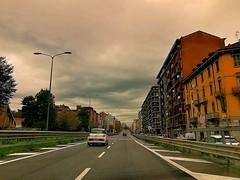 Milano - Viadotto di collegamento autostrada A1 con Piazza Corvetto/Piazza Bologna (Gi@nni B.) Tags: milano milan stradedimilano viadotto ontheroad