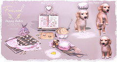 Foxwood - Puppy Baker @ Uber (Dani @ Foxwood/Alchemy/Birdy/Foxes) Tags: alchemy screenshot sl secondlife foxwood pup puppy baker cookie home decor uber mesh cute