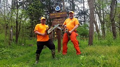 Brian Charleson (North Country Trail) Tags: hike100nct hikethenct ilovethenct northcountrytrail nct challenge greatnorthcollective explore exploremore discover discovermore blueblazes upnorth greatoutdoors adventuremore hiking hikemoreworryless outdoors nature backpacking camping findyourway findyourtrail findyourpark getoutside whyihike family friends chainsaws chainsaw volunteer wampum pennsylvania