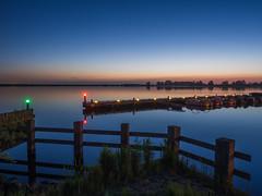 Noorderplassen Almere (f.dalmulder4) Tags: 1240f28 noorderplassen omdem5 olympus bluehour boathouse langesluitertijd water 1240mm omd 1240mmf28pro oly microfourthirds micro43 mft blue blauw almere flevoland thenetherlands longexposure
