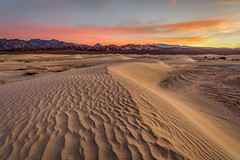 Sand Dune Sunrise (Jeff Sullivan (www.JeffSullivanPhotography.com)) Tags: sunrise sand dunes death valley national park nationalpark california usa eastern sierra landscape nature travel night photography canon eos 5d mark iv photo copyright 2018 jeff sullivan december hdr photomatix