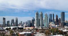 A Calgary Skyline. (Bernard Spragg) Tags: calgary cityscape skyline lumix wide view canada alberta
