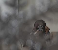 Snowflake (Becca_marsh) Tags: snowflake focus sparkle selfie decoration mirror