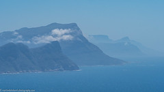 Coast line (Steppenwolf33) Tags: ocean sea mountains southafrica coast cape peninsula steppenwolf33 haze ngc