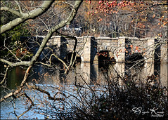 Frank Melville Park... (angelakanner) Tags: canon70d tamron18400 frankmelvillepark setauket longisland water reflection autumn trees