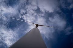 Wind turbine (Cadicxv8) Tags: wind energy power electricity sky cloud turbine mill tower