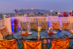 Rooftop view from Dagla Restaurant of Jaipur (The Elephant's Tales Photography) Tags: rooftop restaurant cityscape jaipur rajasthan travelphotography dagla scenicsnotjustlandscape tamron28300mm nikon z7 lounge relaxing chill